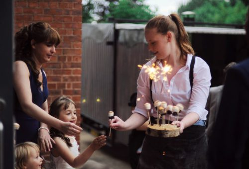 Unique outdoor party catering in Warwickshire